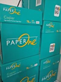 Kertas HVS A4 70 gr Merk PaperOne 1dus