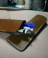Leather Pen Case / Tempat Pensil Kulit