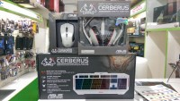 Asus Gaming Cerberus Arctic Edition Set (Keyboard, Mouse, Headset)