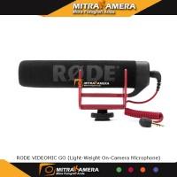 RODE VIDEOMIC GO (Light-weight On-Camera Microphone)