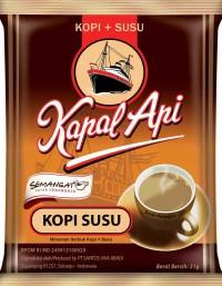 harga Kapal api kopi susu bag (isi 20 sachet @31 gram) Tokopedia.com