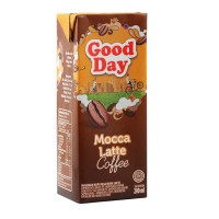 harga Good day kopi ready to drink tetra - mocca latte 200ml pack of 12 Tokopedia.com