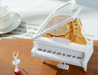 KOTAK MUSIK PIANO BALERINA / MUSIC BOX CLASICC TANPA BATTERY