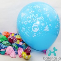 Balon Latex Christmas