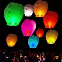 LAMPION KERTAS | LAMPION TERBANG | FLYING LANTERN | LENTERA TERBANG