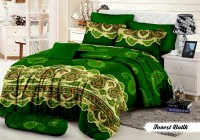 Khawla Forest Batik Set Sprei Queen Size