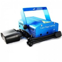 Mini Laser Stage Lampu Disco + Tripod