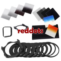 Extra Complete Filter Set Square Nd Gnd 2 4 8 16 + WARNA tipe cokin P