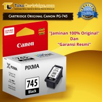 Cartridge Canon PG745 PG 745 Black ORIGINAL catridge MX497 MG2570 2870