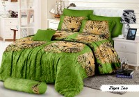 Khawla Tiger Zoo Set Sprei Single Size