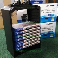 Dobe PS4 Fat / PS4 Slim / PS4 PRO Stand Bluray Storage + Charging Dock
