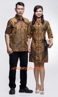 Sarimbit Pasangan Couple Kemeja Dress Seragam Batik 1836 XL