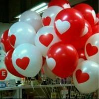 Balon Latex Sablon Hati