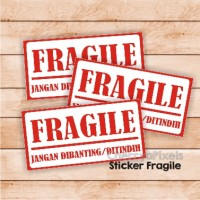 FRAGILE STICKER - LABEL - STIKER - C10
