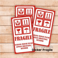 FRAGILE STICKER - LABEL - STIKER - C09
