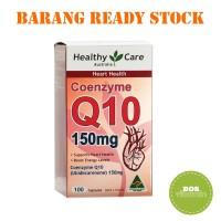 Healthy Care CoEnzyme Q10 150mg - 100 kapsul