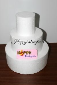 dummy tier cake, dummy cake wedding cake, dummy cake ultah