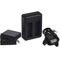 charger gopro hero 4 dual slot + batrai 2