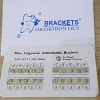 Bracket Orthodontic Amplop (untuk pasang behel)