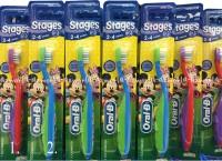 Sikat gigi anak Oral-B Stages 2-4 tahun