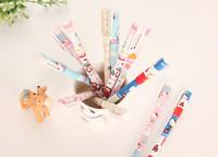 Pulpen Gel Set Hello Kitty Tinta Hitam (Isi 6)