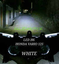 LAMPU UTAMA LED MOTOR HONDA VARIO 125 HIGH/LOW (PNP)