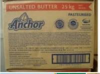 Butter Anchor Unsalted 25Kg