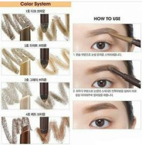 ETUDE HOUSE - DRAWING EYEBROW DUO, EYE BROW ori