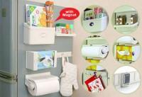 5in1 Refrigerator Organizer / Rak Kulkas Magnet Multifungsi