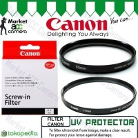 Filter UV Protector Canon 49mm for Lens EF-M 15-45mm (M3/M5/M6/M10)