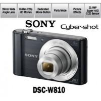 Sony Cyber-Shot DSC-W810 SI - 20.1 MP - 6x Optical Zoom Garansi Resmi