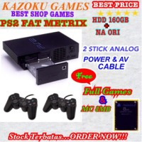 Ps2 fat Matrix HDD160gb full game terbaru