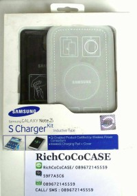SAMSUNG WIRELESS CHARGER KIT GALAXY NOTE 3 (WIRELESS PAD+BACK COVER)