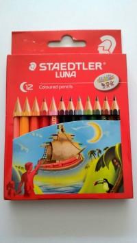 Pensil Warna Kecil Staedtler Luna (12 Warna)
