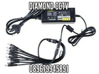 Adaptor cctv 12 V 5.0 A out 8 channel