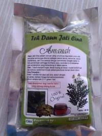 Teh Daun Jati Cina Original 100% Alami ( Herbal Organik) Amanah Herbal