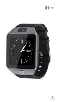 Smart Watch U9/DZ09 Black list Black