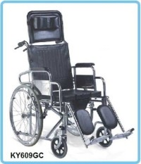 Kursi Roda 3 in 1 Sella KY609GC  bisa BAB tiduran selonjoran 3in 1
