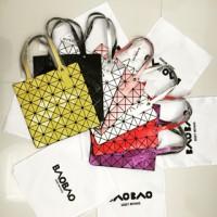 Issey Miyake BAO BAO Bag Premium Tote Bag. Emboss. BEST SELLER BAG
