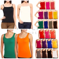 GROSIR SERI 6pcs / WOMAN BASIC TANK TOP / Tank Top Polos Murah