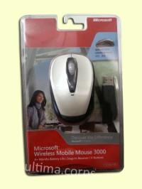 Microsoft Wireless Mobile Mouse 3000 (White)