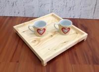 Wooden tray (nampan/baki kayu) - medium