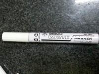 Snowman Spidol permanent marker White / spidol putih