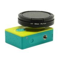 UV Filter Lens 52mm dengan Cap Untuk Xiaomi Yi - Lensa