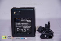 Dual Battery Charger Untuk Xiaomi Yi Battery. (ACC008)