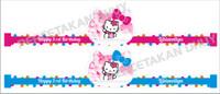 Topi Ultah Anak Tema Hello Kitty ( Desain Terbaru )