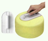 DT005 Cake Smoother penghalus fondant cake kue tart ultah baking tools