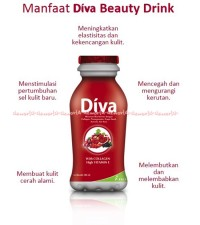 Diva Beauty Drink Diva Minuman Collagen Vitamin E untuk Kulit