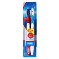 Oral-B sikat Gigi cross Action Prohealth twin pack