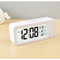 Smart Timepiece Jam Meja Pintar (Suhu Backlight Alarm Clock) JP9908